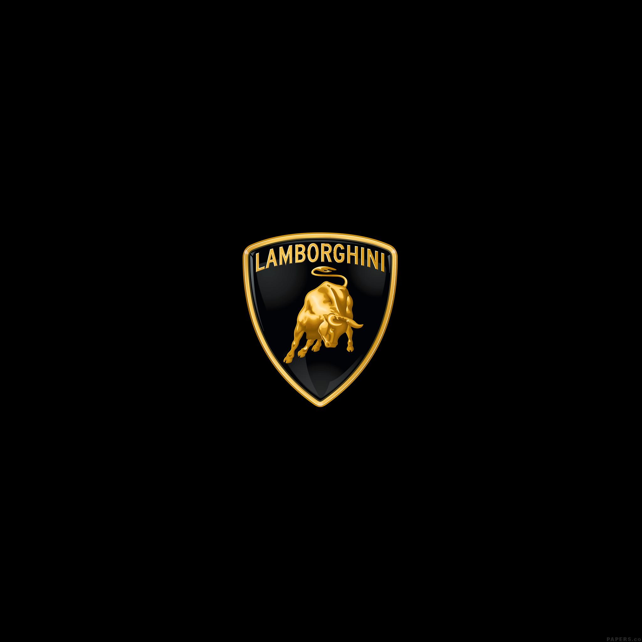 Ai02 lamborghini logo art car minimal dark - Lamborghini symbol wallpaper ...