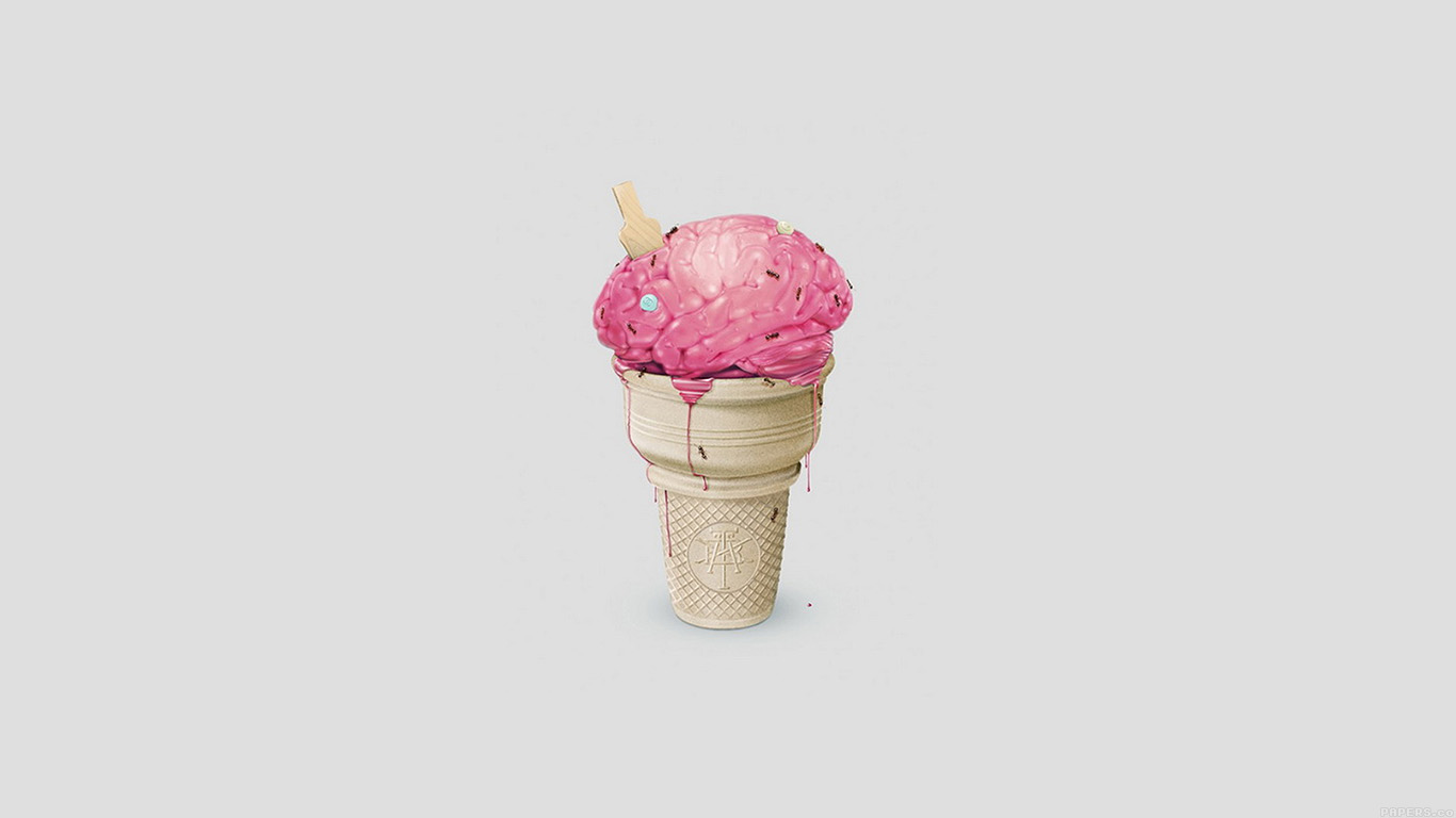 iPapers.co-Apple-iPhone-iPad-Macbook-iMac-wallpaper-ai04-brain-icecream-illust-art-cute-white-wallpaper