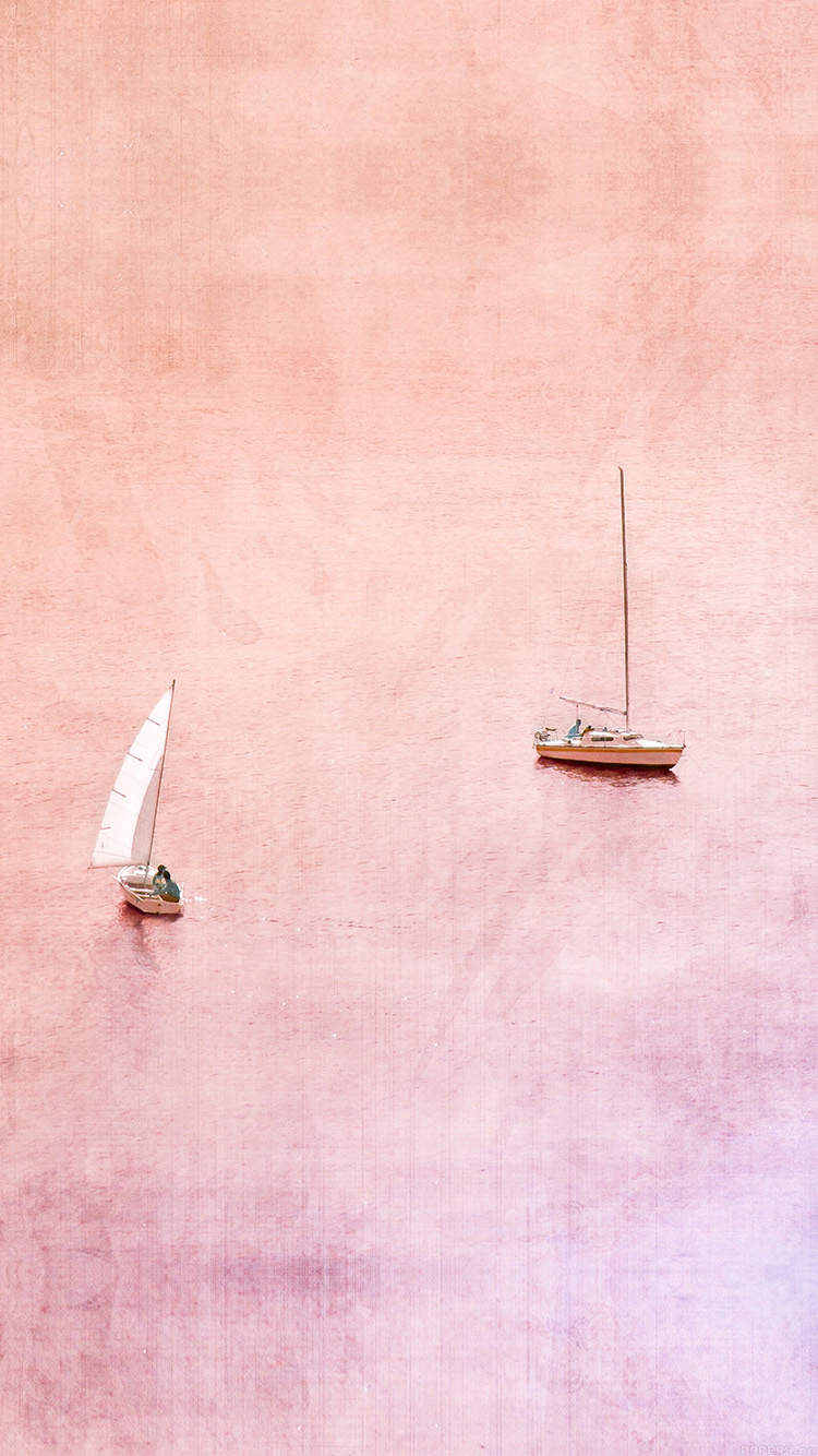 Papers.co-iPhone5-iphone6-plus-wallpaper-ai09-sea-boat-lake-sunset-day-fun-nature-art
