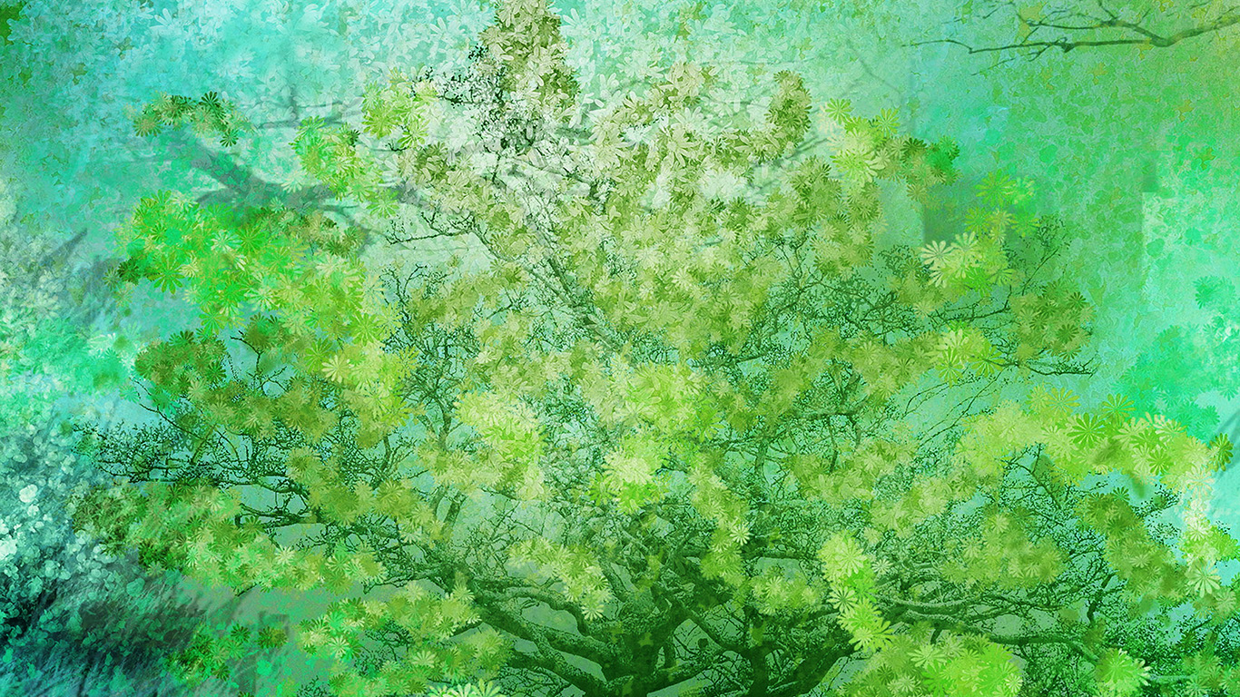 desktop-wallpaper-laptop-mac-macbook-air-ai12-flower-spring-art-green-illust-happy-wallpaper