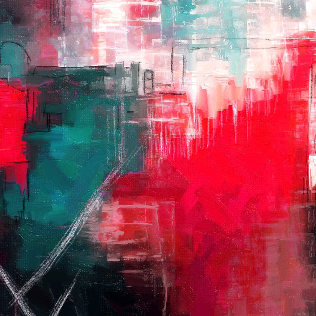 android-wallpaper-ai14-paint-art-red-illust-diet-abstract-wallpaper