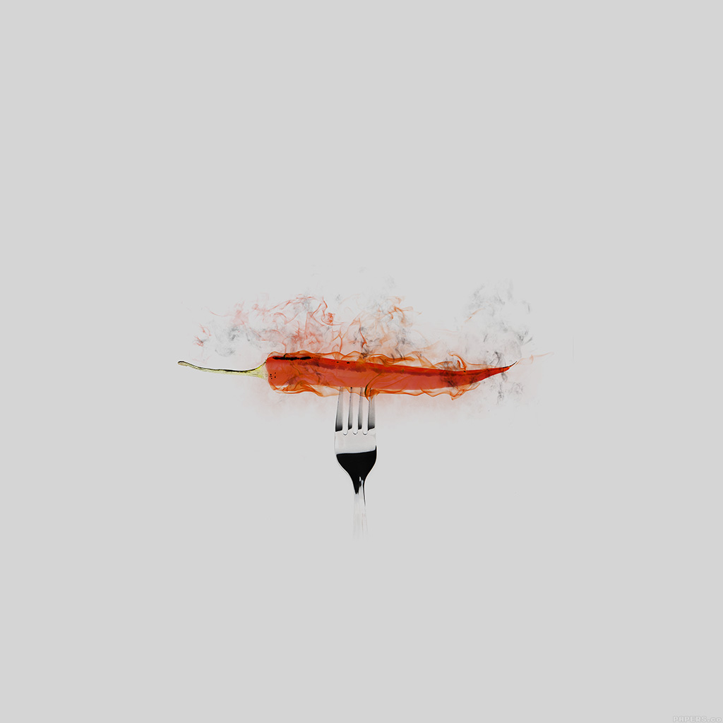 android-wallpaper-ai17-pepper-red-hot-food-art-white-wallpaper