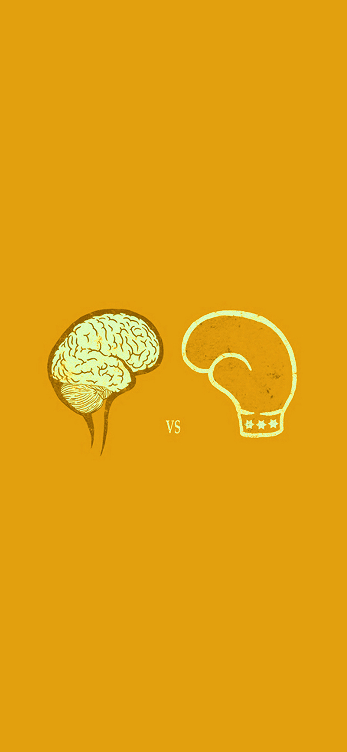 iPhonexpapers.com-Apple-iPhone-wallpaper-ai23-brain-vs-boxing-illust-gold-minimal-art