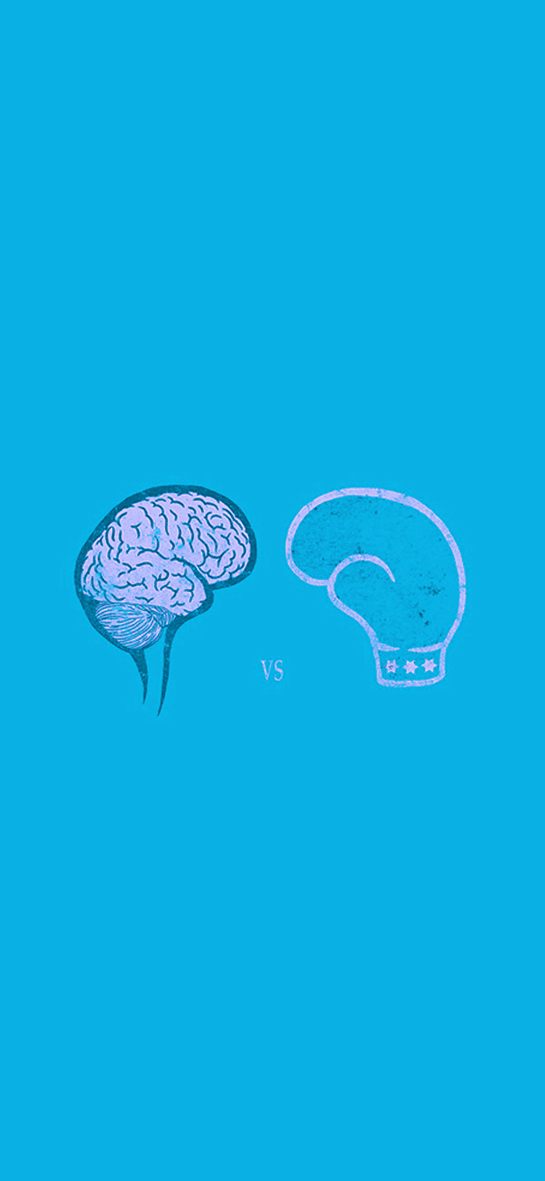 iPhoneXpapers.com-Apple-iPhone-wallpaper-ai24-brain-vs-boxing-illust-blue-minimal-art