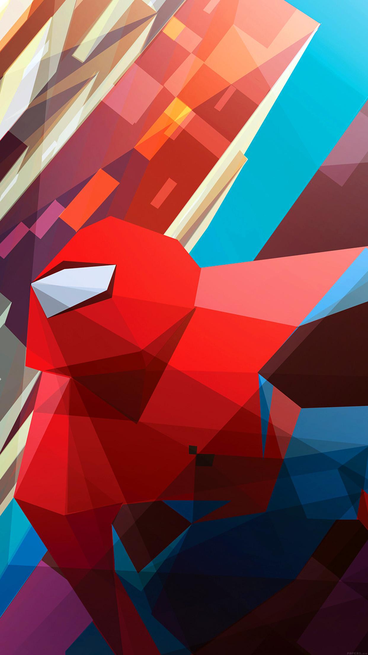 Iphonepapers Com Iphone 8 Wallpaper Ai28 Spiderman Art Hero