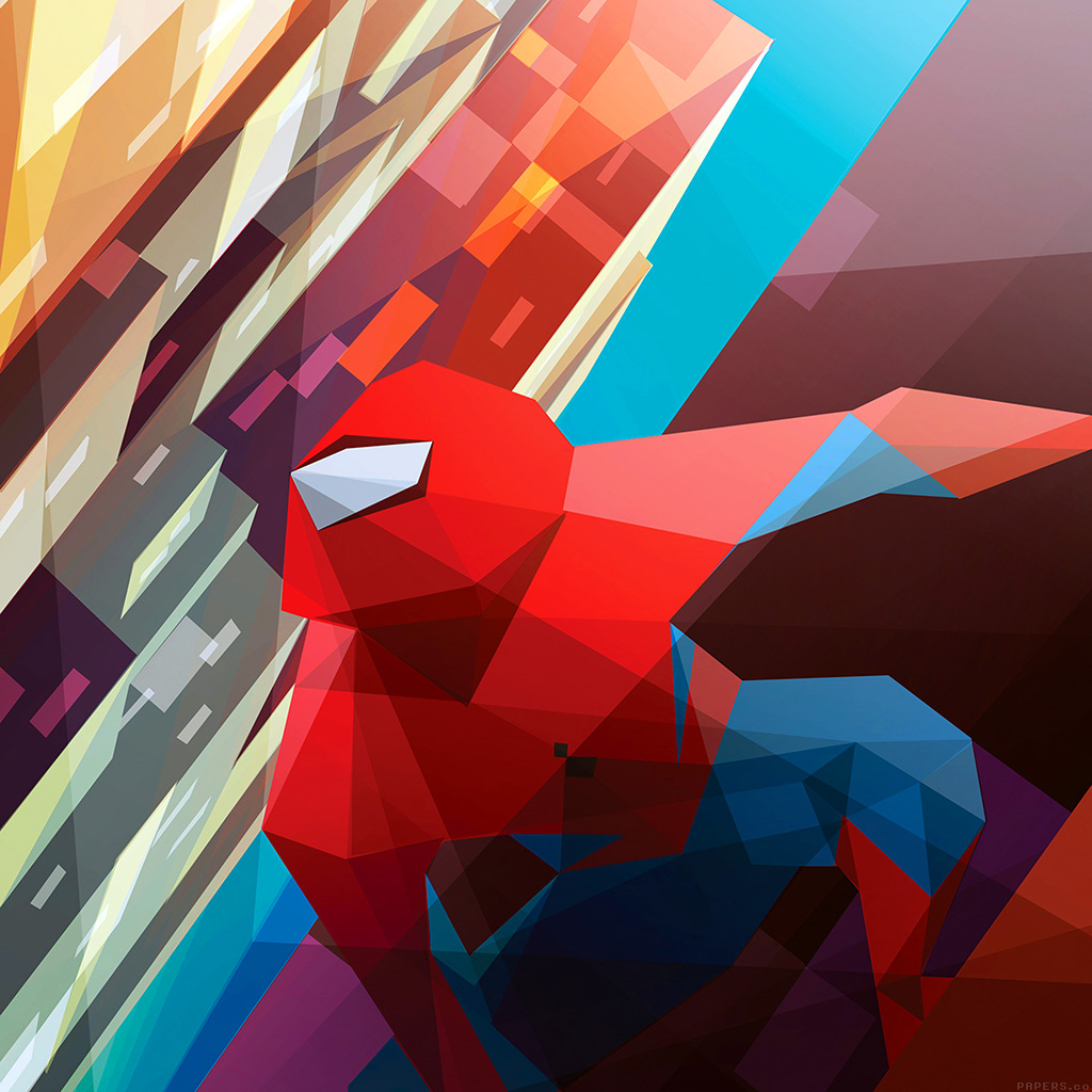 android-wallpaper-ai28-spiderman-art-hero-illust-vector-wallpaper