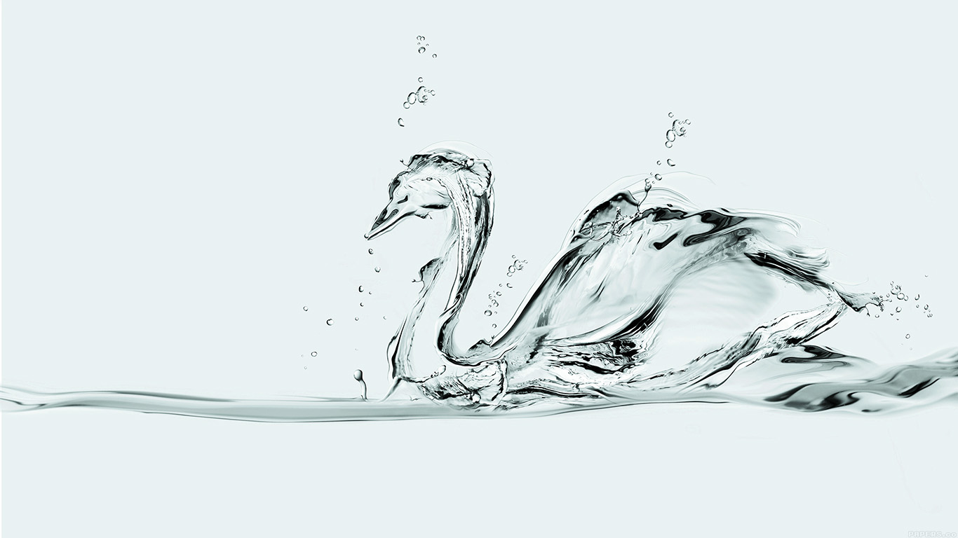 desktop-wallpaper-laptop-mac-macbook-air-ai37-water-swan-white-drop-art-illust-wallpaper