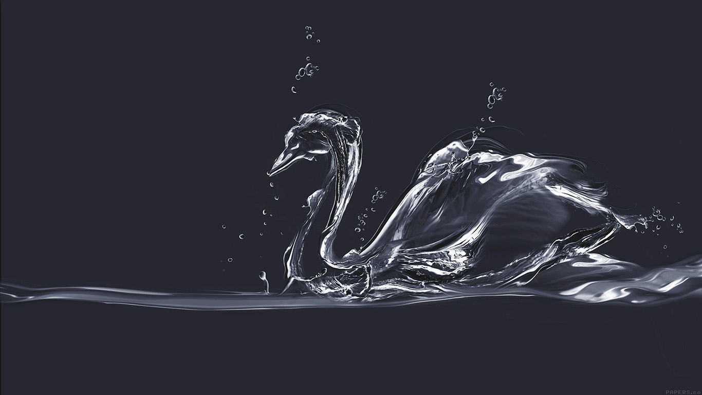 desktop-wallpaper-laptop-mac-macbook-airai38-water-swan-blue-drop-art-illust-wallpaper