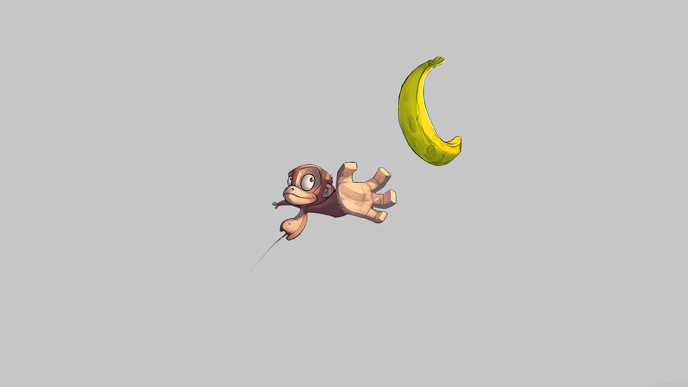 desktop-wallpaper-laptop-mac-macbook-airai41-monkey-banana-love-white-illust-art-minimal-wallpaper