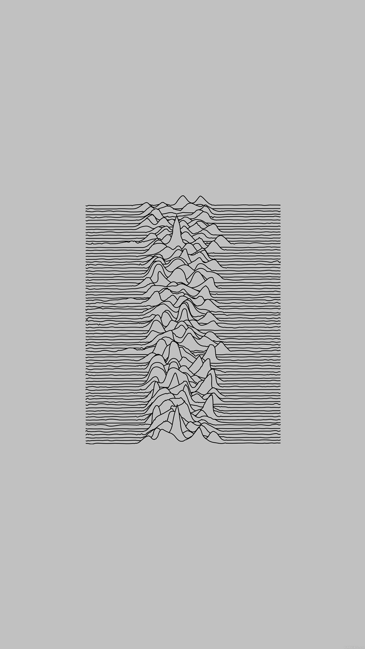 Ai51 Joy Division Unknown Pleasures White Art Minimal Wallpaper
