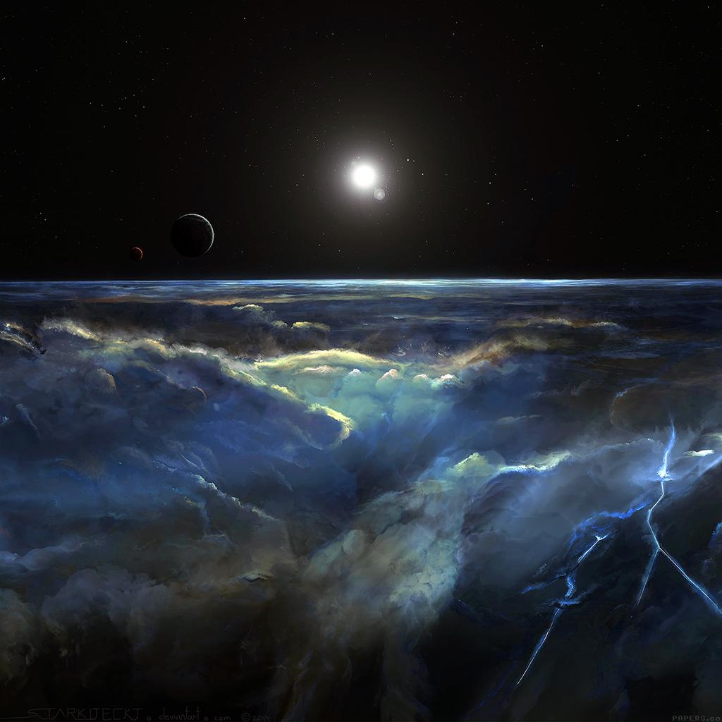 android-wallpaper-ai53-space-view-art-illust-dark-wallpaper