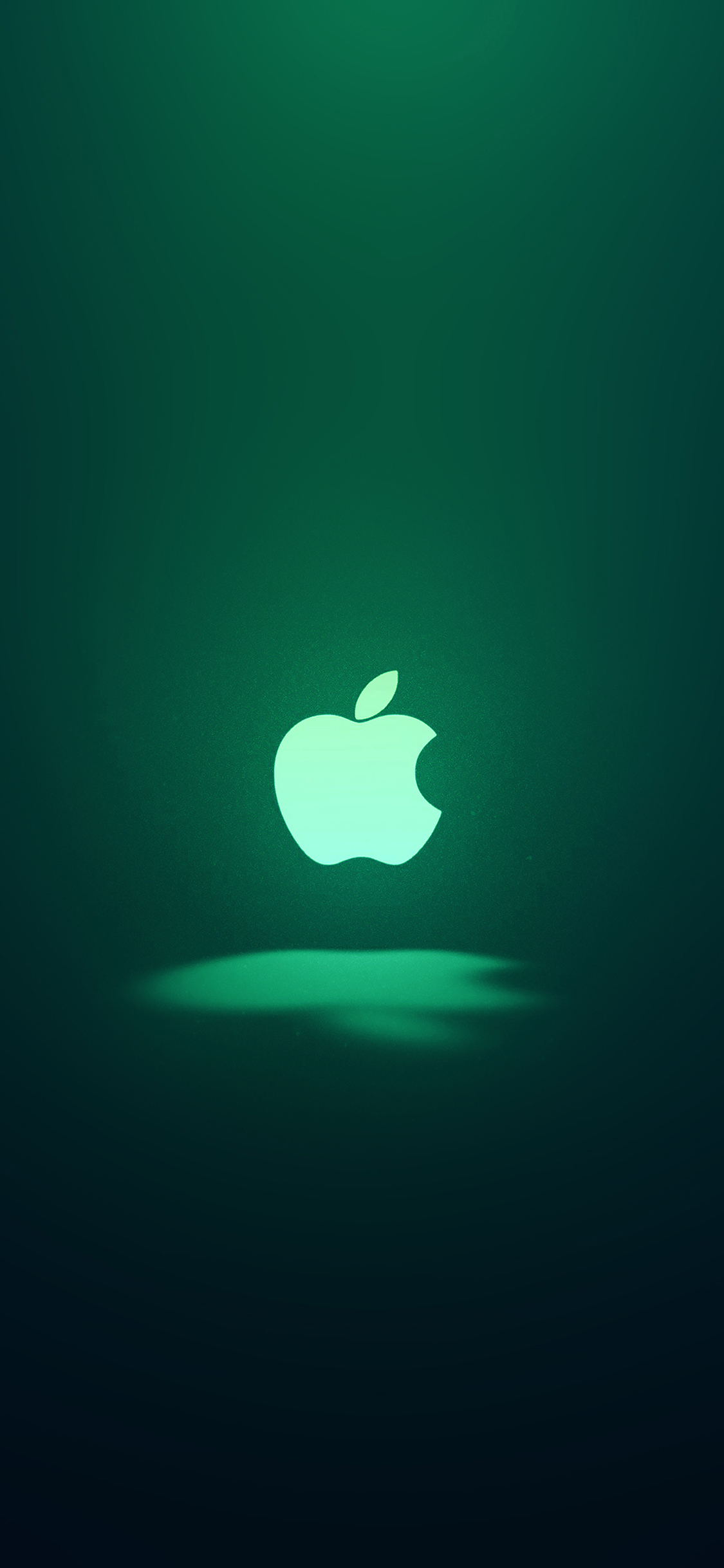 Iphonexpapers Ai63 Apple Logo Love Mania Green