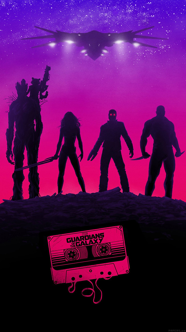 Papers.co-iPhone5-iphone6-plus-wallpaper-ai71-guardians-of-the-galaxy-poster-film-art-illust