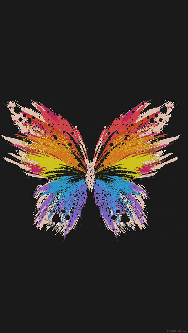 Iphone6papers Co Iphone 6 Wallpaper Ai76 Butterfly Art