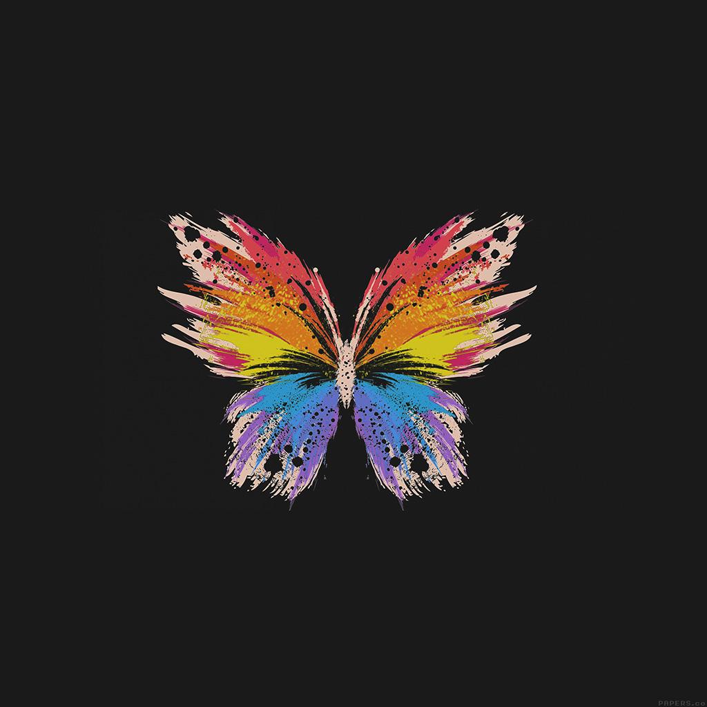 android-wallpaper-ai76-butterfly-art-illust-cute-dark-minimal-wallpaper