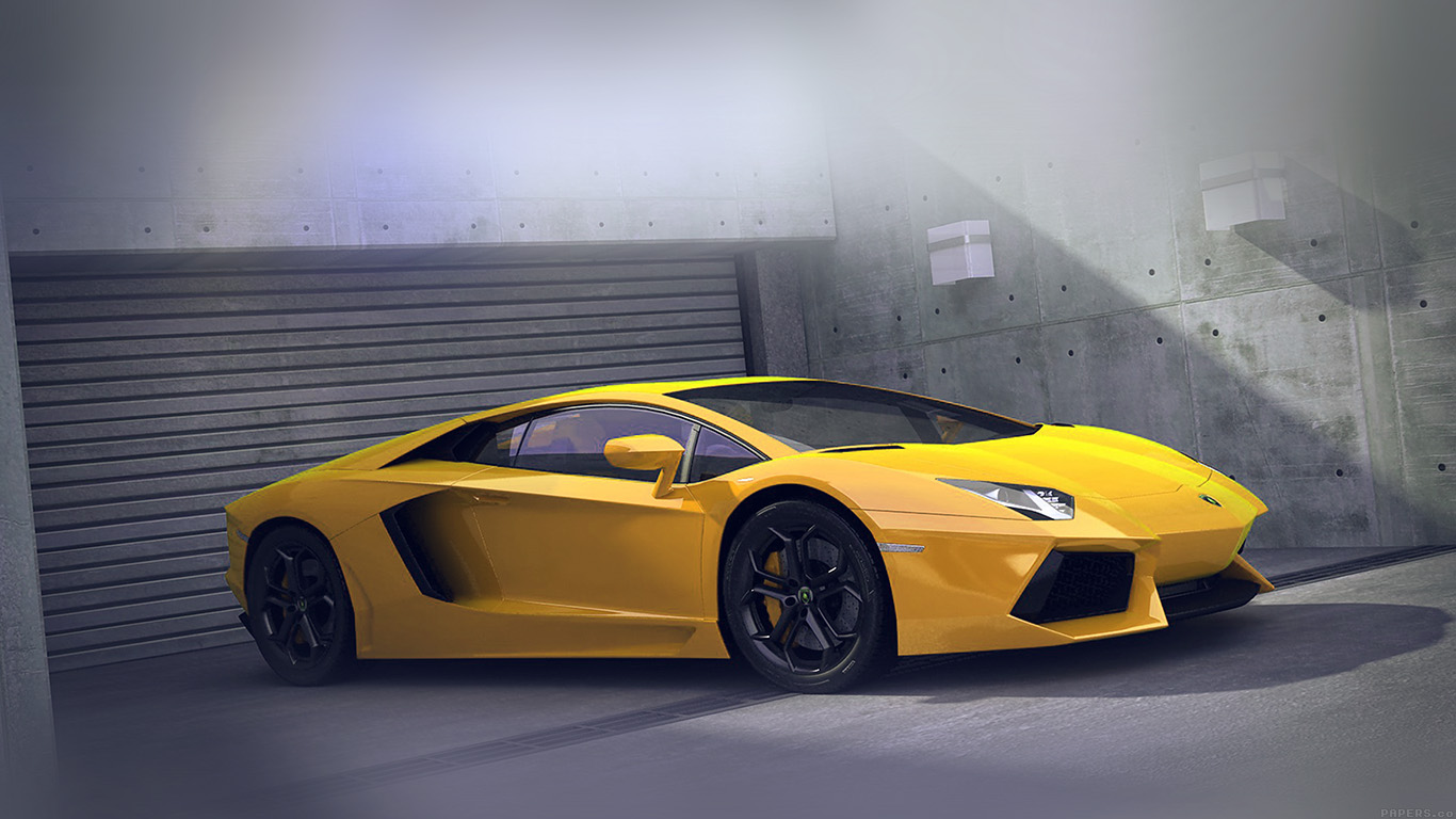 desktop-wallpaper-laptop-mac-macbook-airai90-yellow-lamborghini-parked-car-art-wallpaper