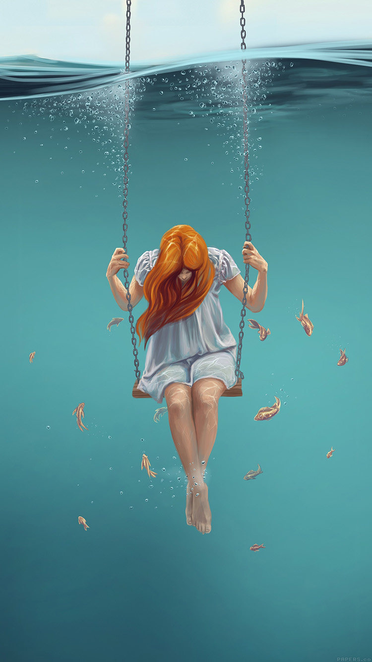 Papers.co-iPhone5-iphone6-plus-wallpaper-ai91-swing-art-painting-girl