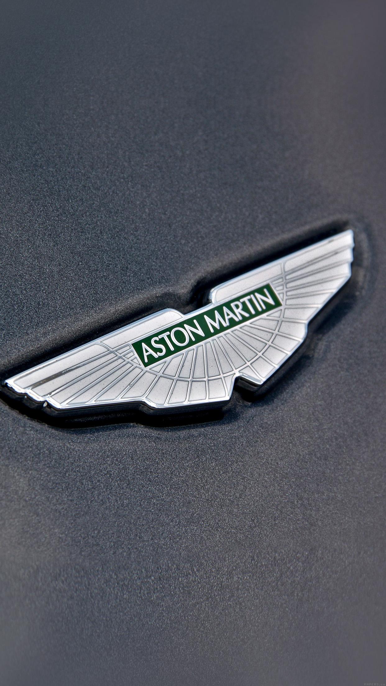 IPhonepapers Ajastonmartinlogocar - Aston martin logo