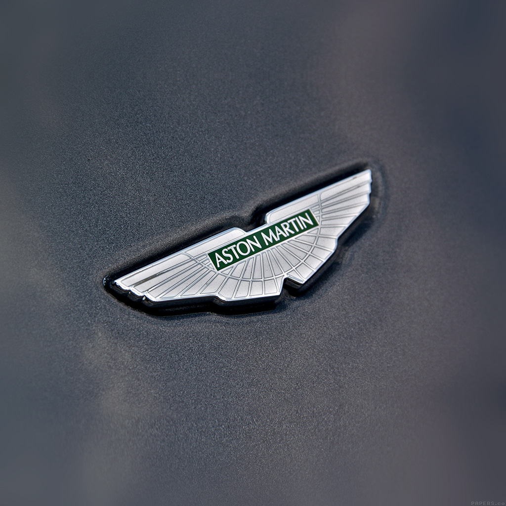 Aston Martin Car Wallpaper: Aj01-aston-martin-logo-car - Parallax HD IPhone