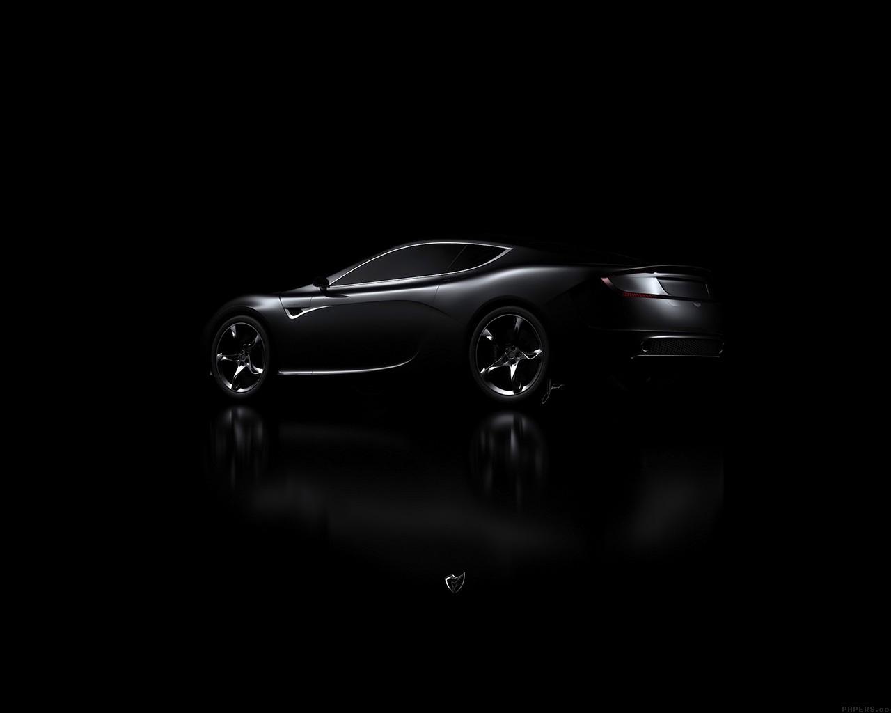 I Love Papers Aj06 Aston Martin Black Car Dark