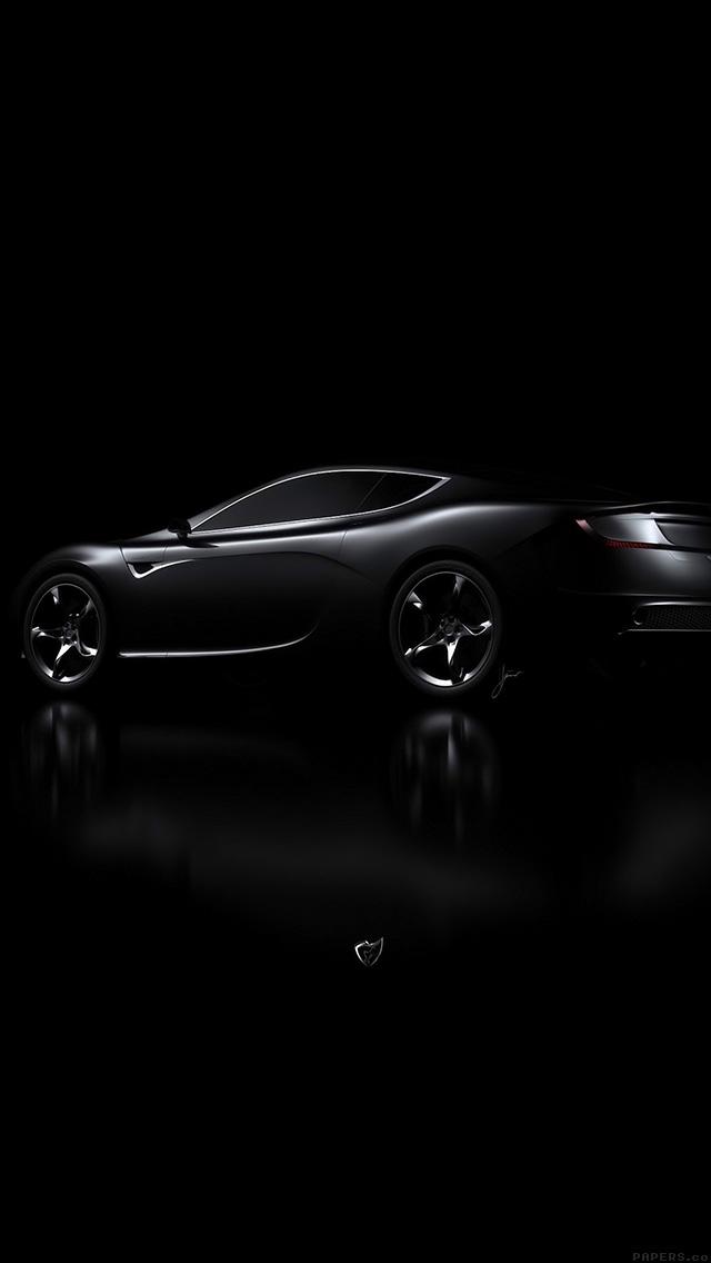 Aj06 Aston Martin Black Car Dark