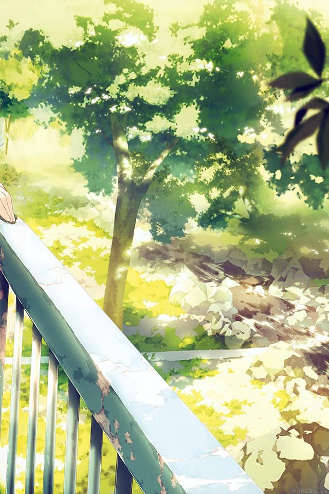 freeios7.com-iphone-4-iphone-5-ios7-wallpaperaj09-anime-background-art-illust-forest-iphone4