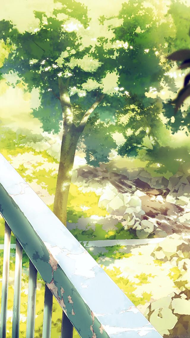 freeios8.com-iphone-4-5-6-plus-ipad-ios8-aj09-anime-background-art-illust-forest