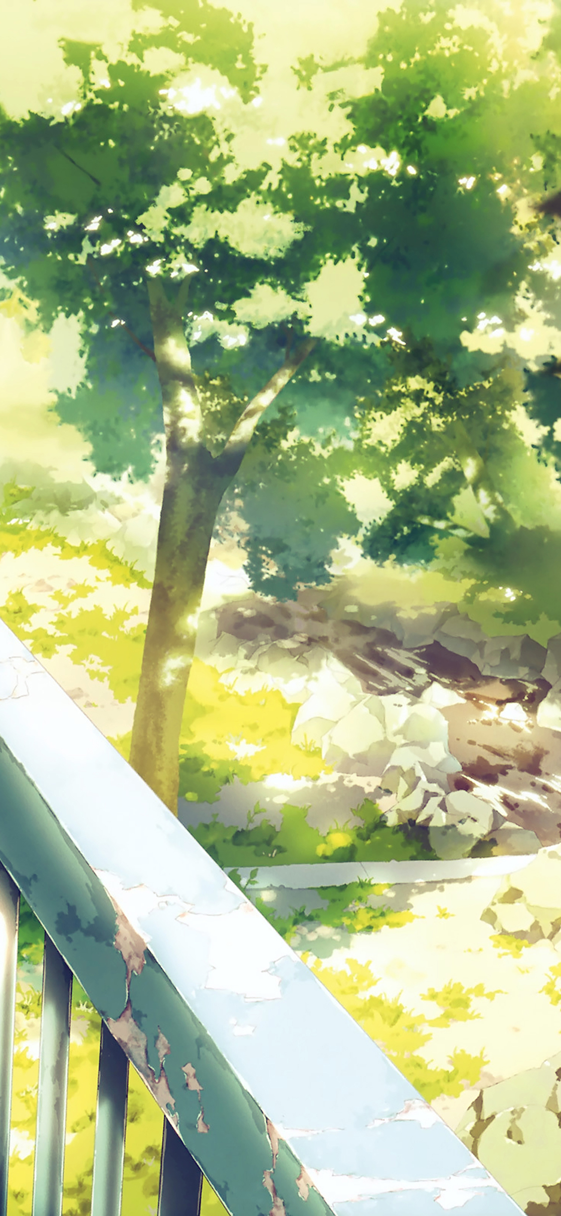 Aj09 Anime Background Art Illust Forest Papers Co