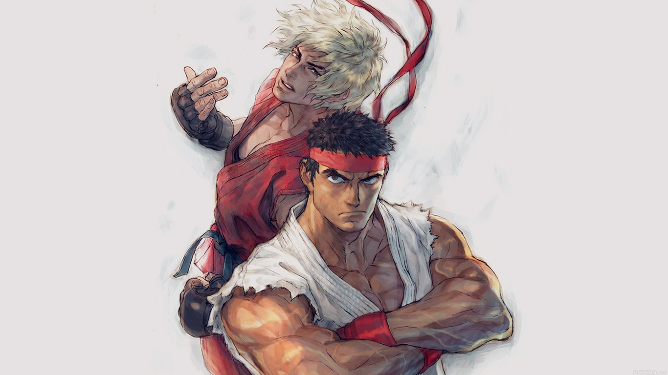 desktop-wallpaper-laptop-mac-macbook-air-aj10-anime-street-fighters-ryu-ken-art-illust-wallpaper
