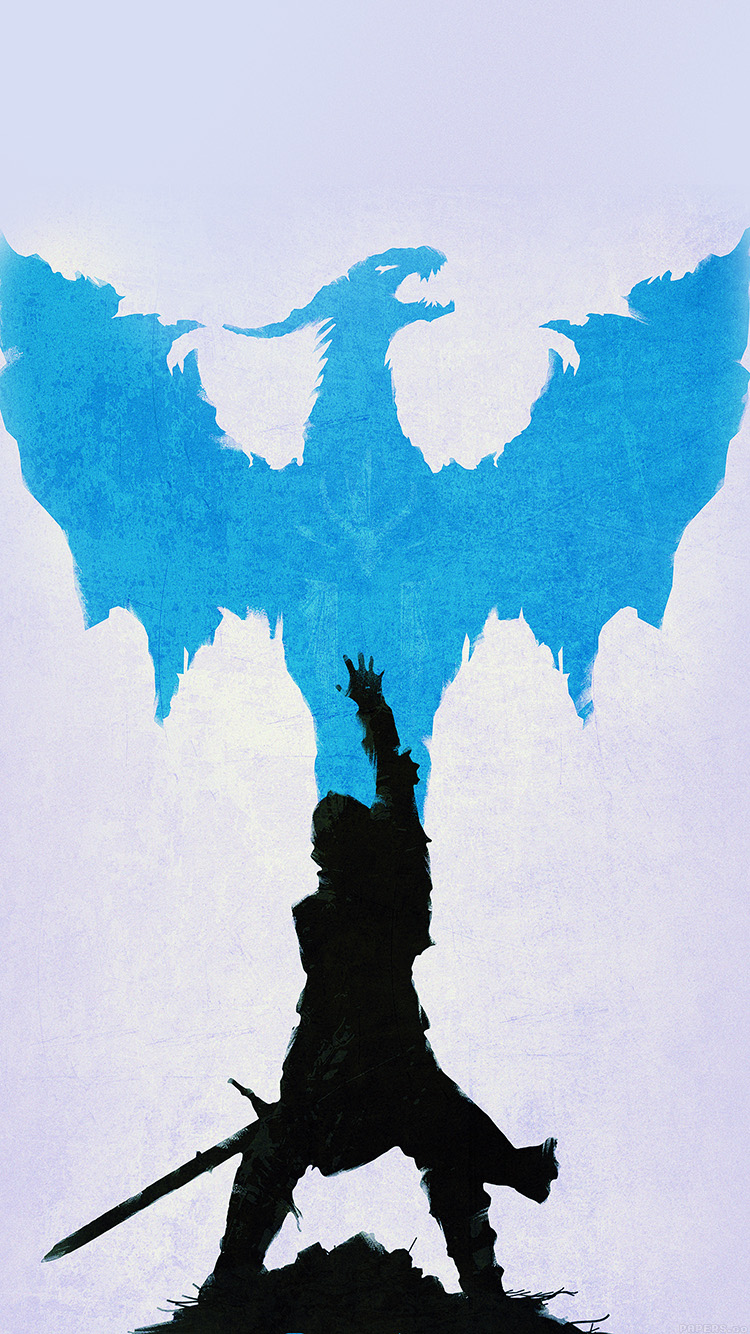 Papers.co-iPhone5-iphone6-plus-wallpaper-aj12-dragon-age-blue-art-illust-minimal
