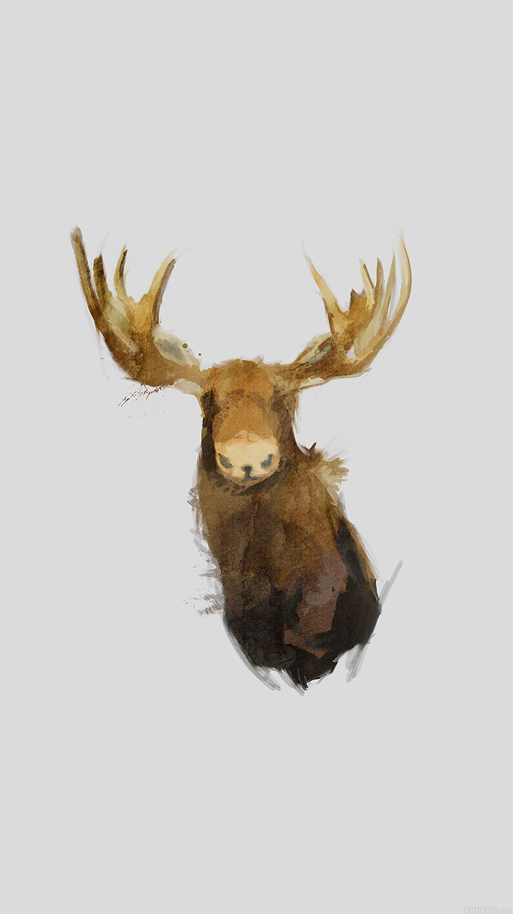 iPhone6papers.co-Apple-iPhone-6-iphone6-plus-wallpaper-aj15-moose-illust-minimal-art-by-garillu