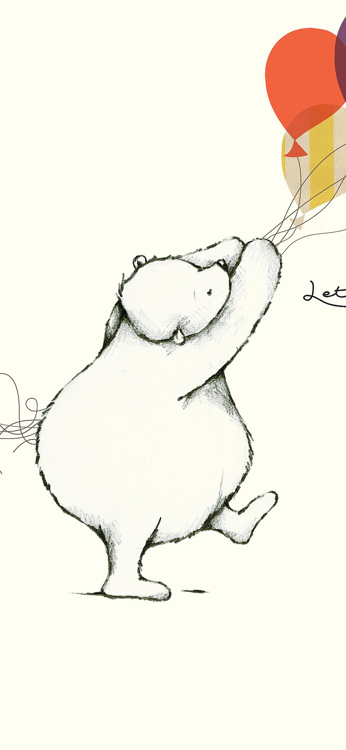 iPhoneXpapers.com-Apple-iPhone-wallpaper-aj21-lets-celebrate-cute-bear-illust-nicola-evans