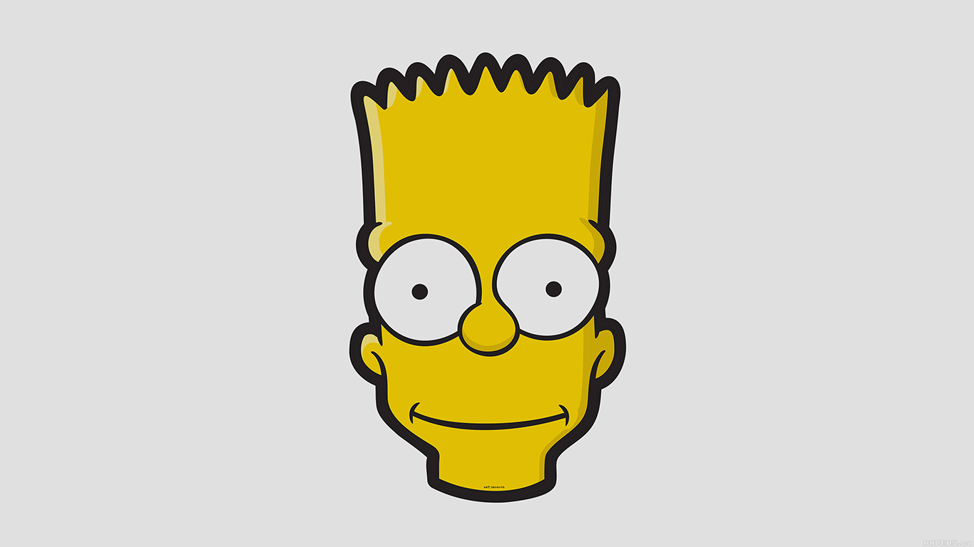 desktop-wallpaper-laptop-mac-macbook-air-aj28-bart-face-art-illust-simpsons-minimal-simple-wallpaper