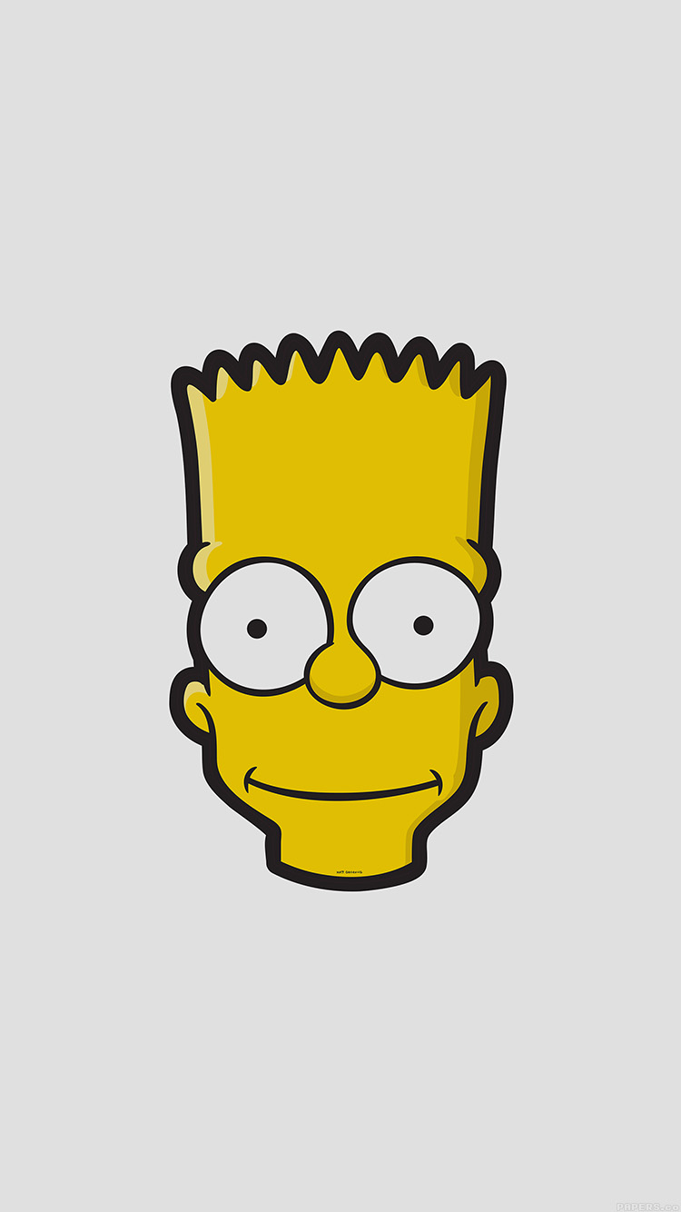 iPhone7papers.com-Apple-iPhone7-iphone7plus-wallpaper-aj28-bart-face-art-illust-simpsons-minimal-simple