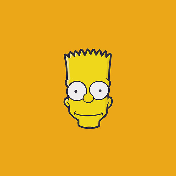 iPapers.co-Apple-iPhone-iPad-Macbook-iMac-wallpaper-aj30-bart-face-art-illust-yellow-simpsons-minimal-simple-wallpaper