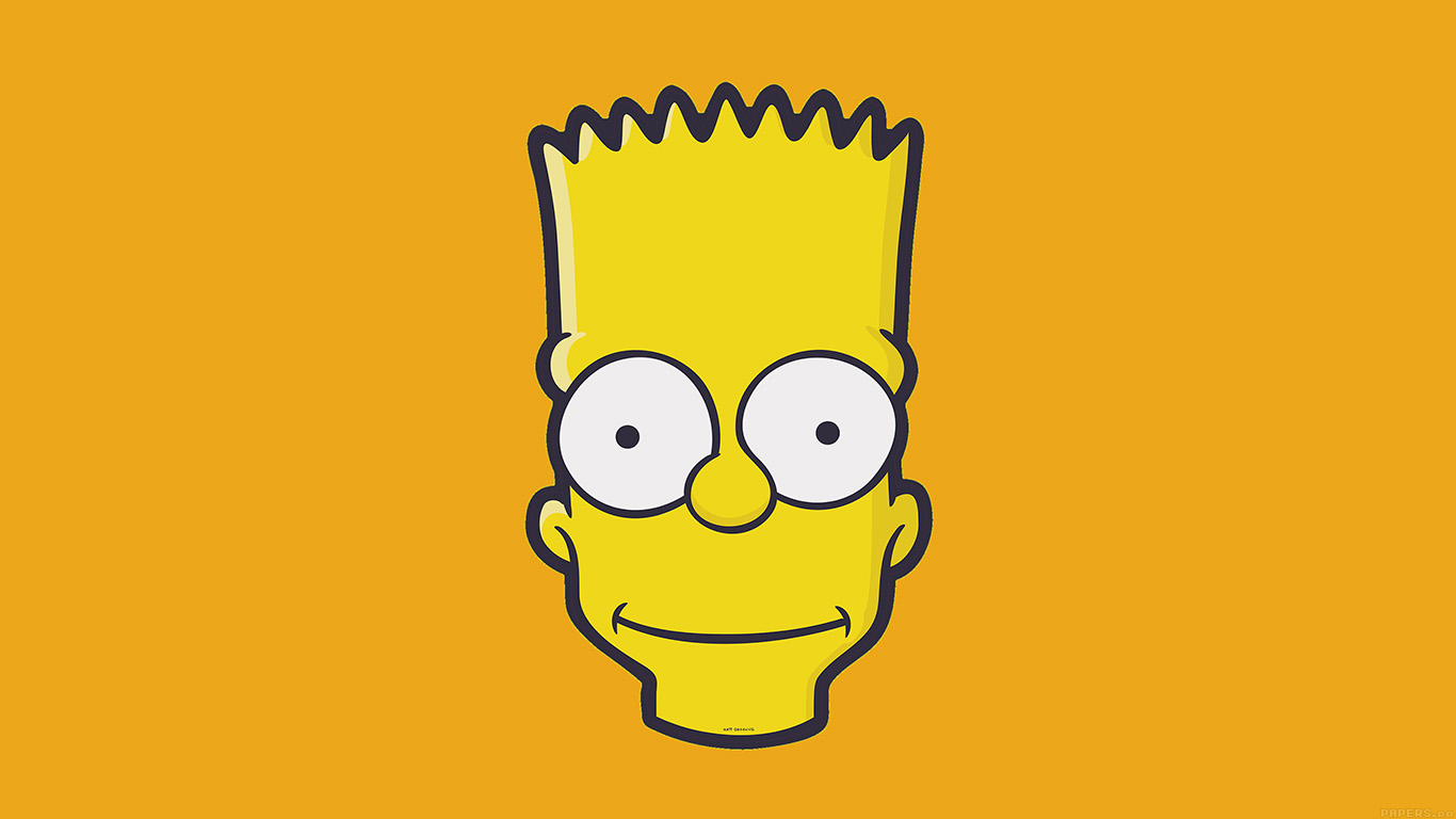 desktop-wallpaper-laptop-mac-macbook-airaj30-bart-face-art-illust-yellow-simpsons-minimal-simple-wallpaper