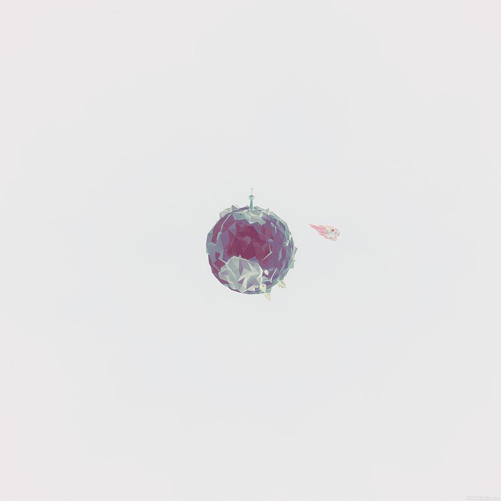 wallpaper-aj33-polygon-planet-cute-minimal-simple-art-white-wallpaper