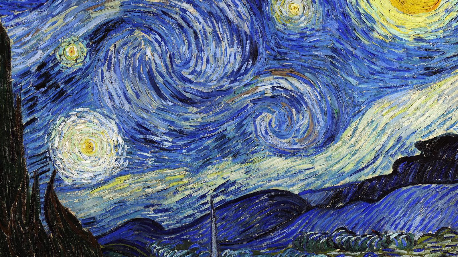 vincent van gogh starry night desktop wallpaper
