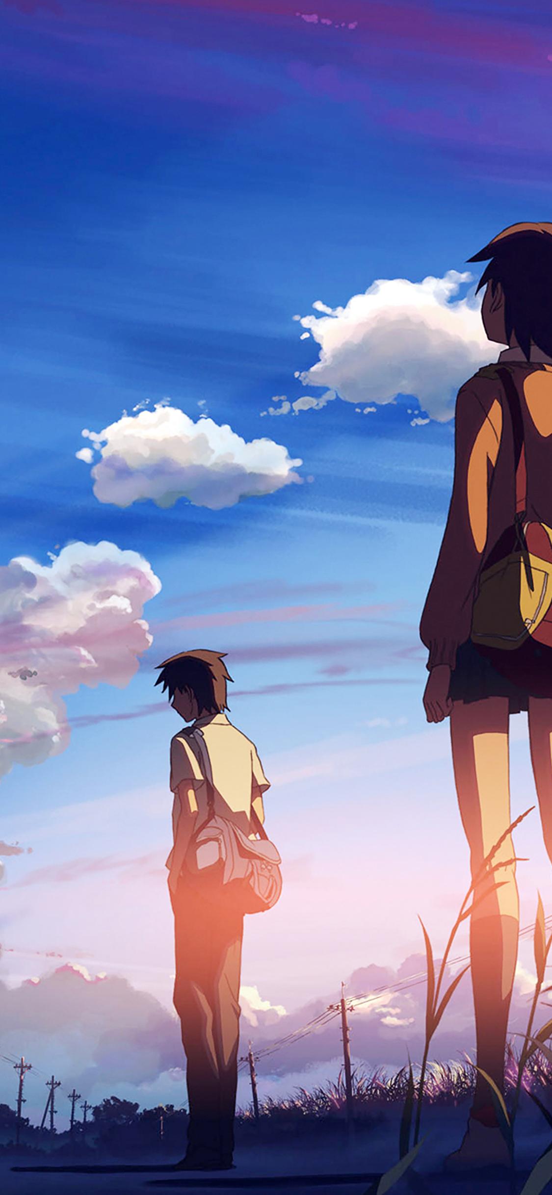Aj44 Departure Love Anime Illust Art Papers Co