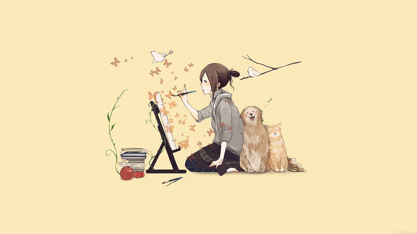 wallpaper-desktop-laptop-mac-macbook-aj48-illustrator-dog-cat-art-illust-wallpaper