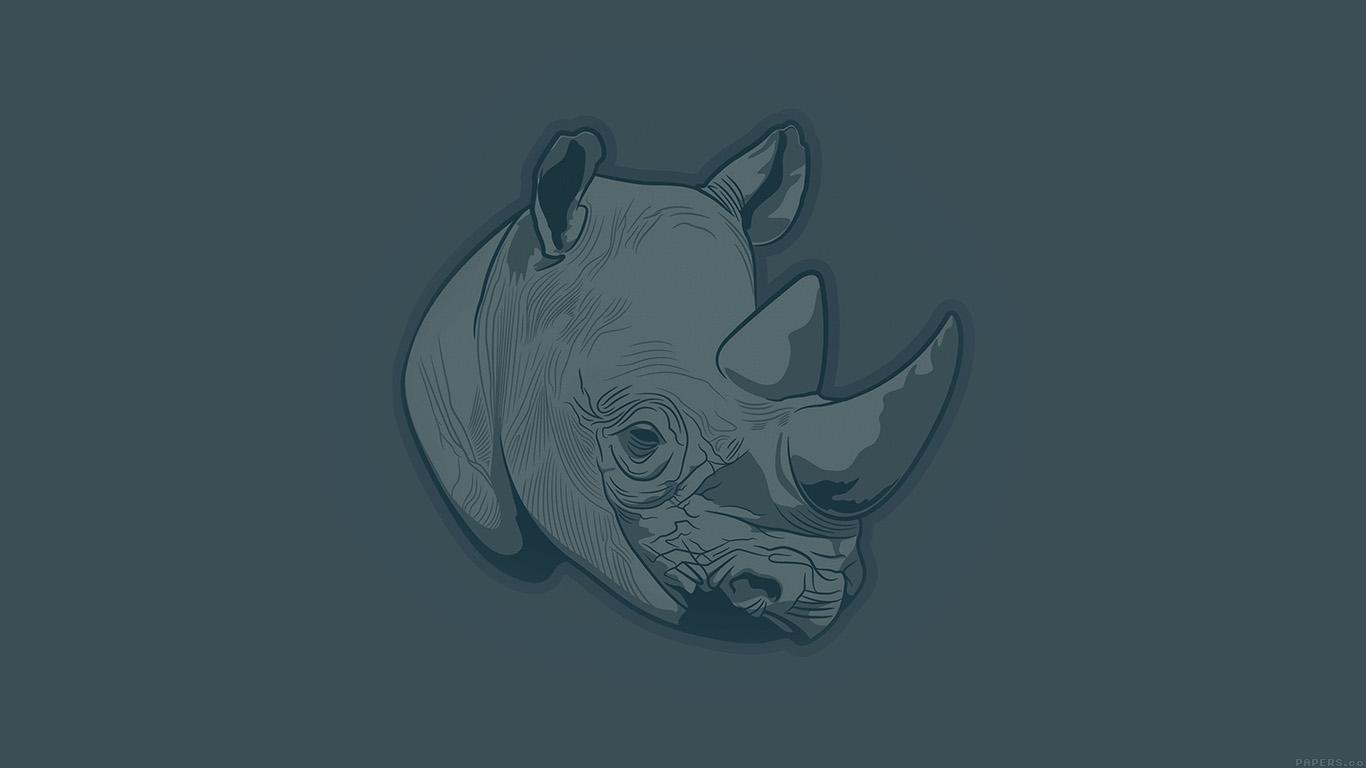 desktop-wallpaper-laptop-mac-macbook-airaj52-thoughtful-rhino-blue-minimal-illust-art-wallpaper