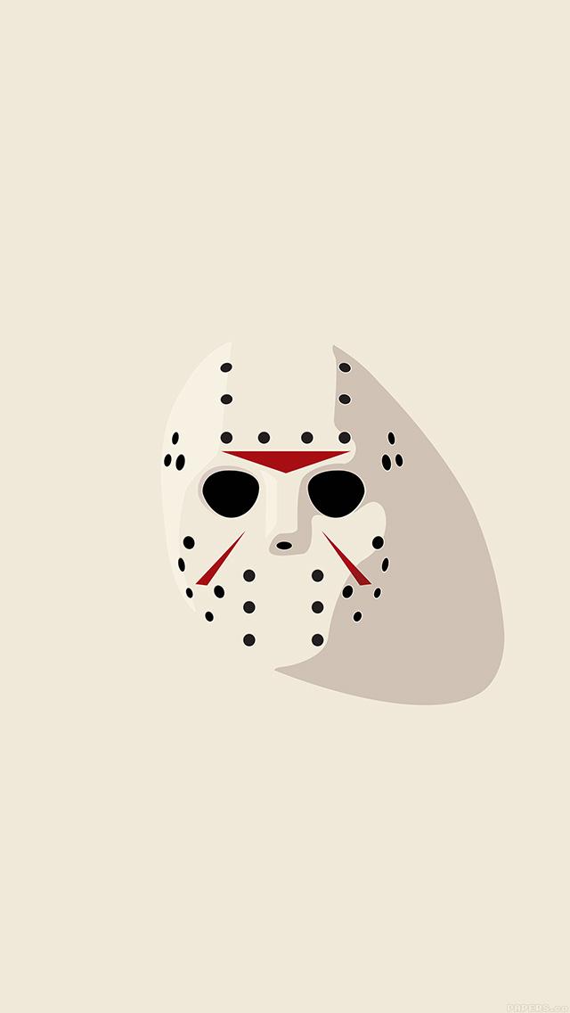 freeios8.com-iphone-4-5-6-plus-ipad-ios8-aj66-horror-mask-illust-art-minimal-simple