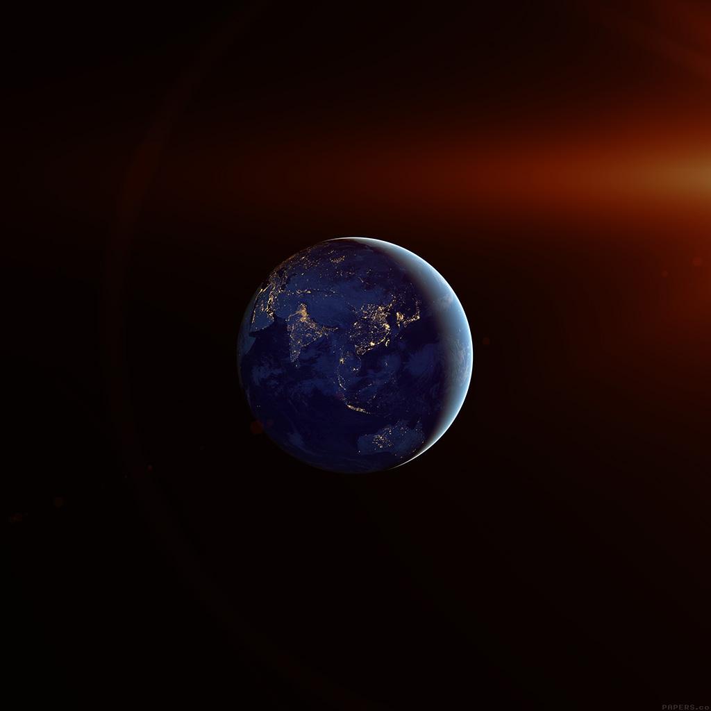| aj70-asia-at-night-flare-earth-space-dark