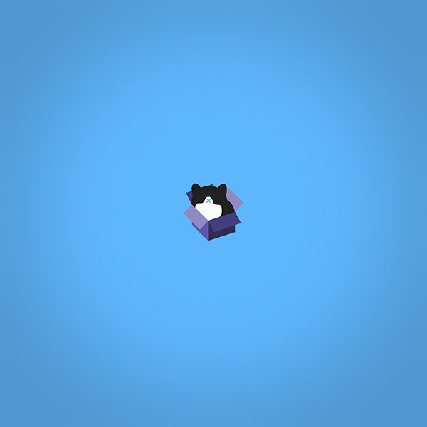 iPapers.co-Apple-iPhone-iPad-Macbook-iMac-wallpaper-aj74-cat-box-blue-illust-animal-art-minimal-wallpaper