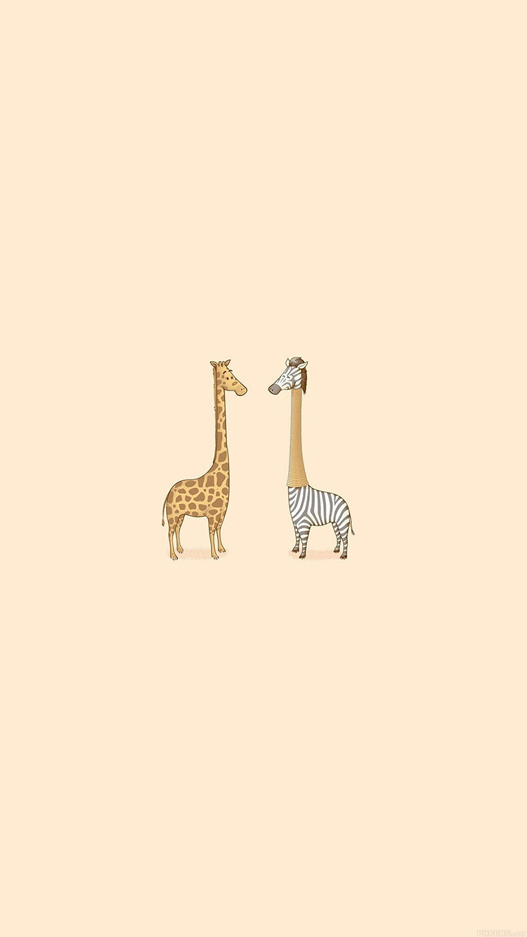 iPhone6papers.co-Apple-iPhone-6-iphone6-plus-wallpaper-aj79-cute-giraffe-yellow-animal-minimal