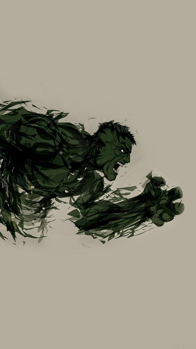freeios8.com-iphone-4-5-6-plus-ipad-ios8-aj80-hulk-illust-anger-minimal-hero-art
