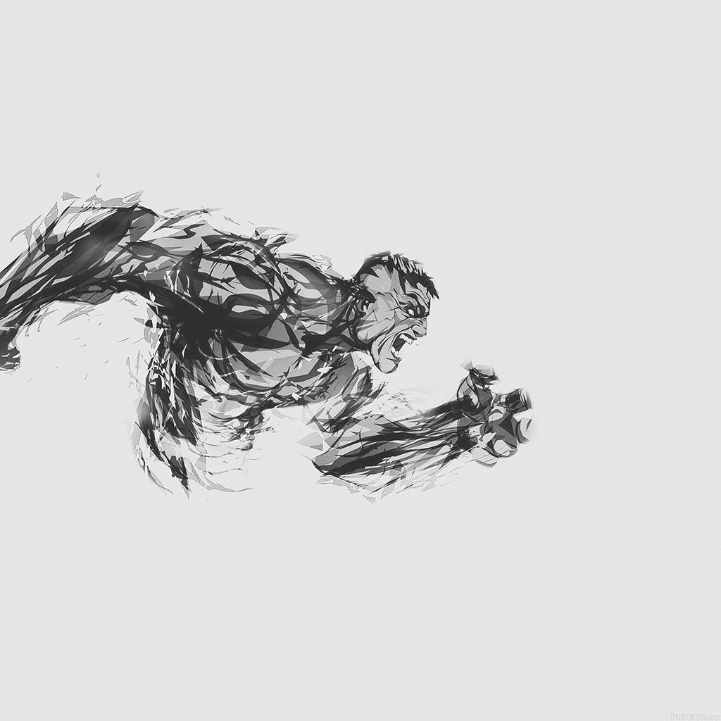 android-wallpaper-aj81-hulk-illust-anger-white-minimal-hero-wallpaper