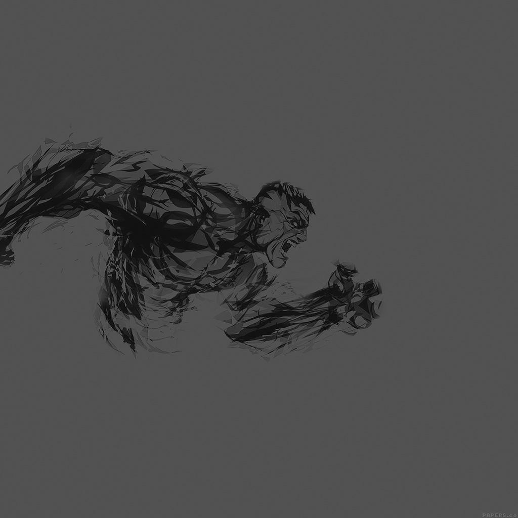Papers Co Android Wallpaper Aj82 Hulk Illust Anger Dark