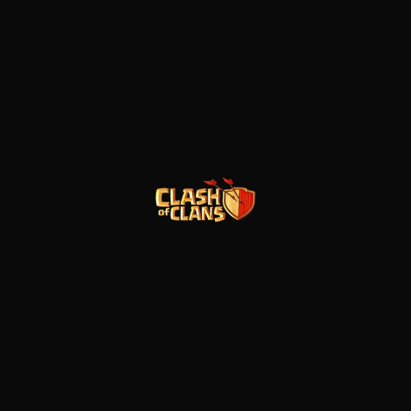FREEIOS7 | aj83-clash-of-clans-logo-art-dark-game ...