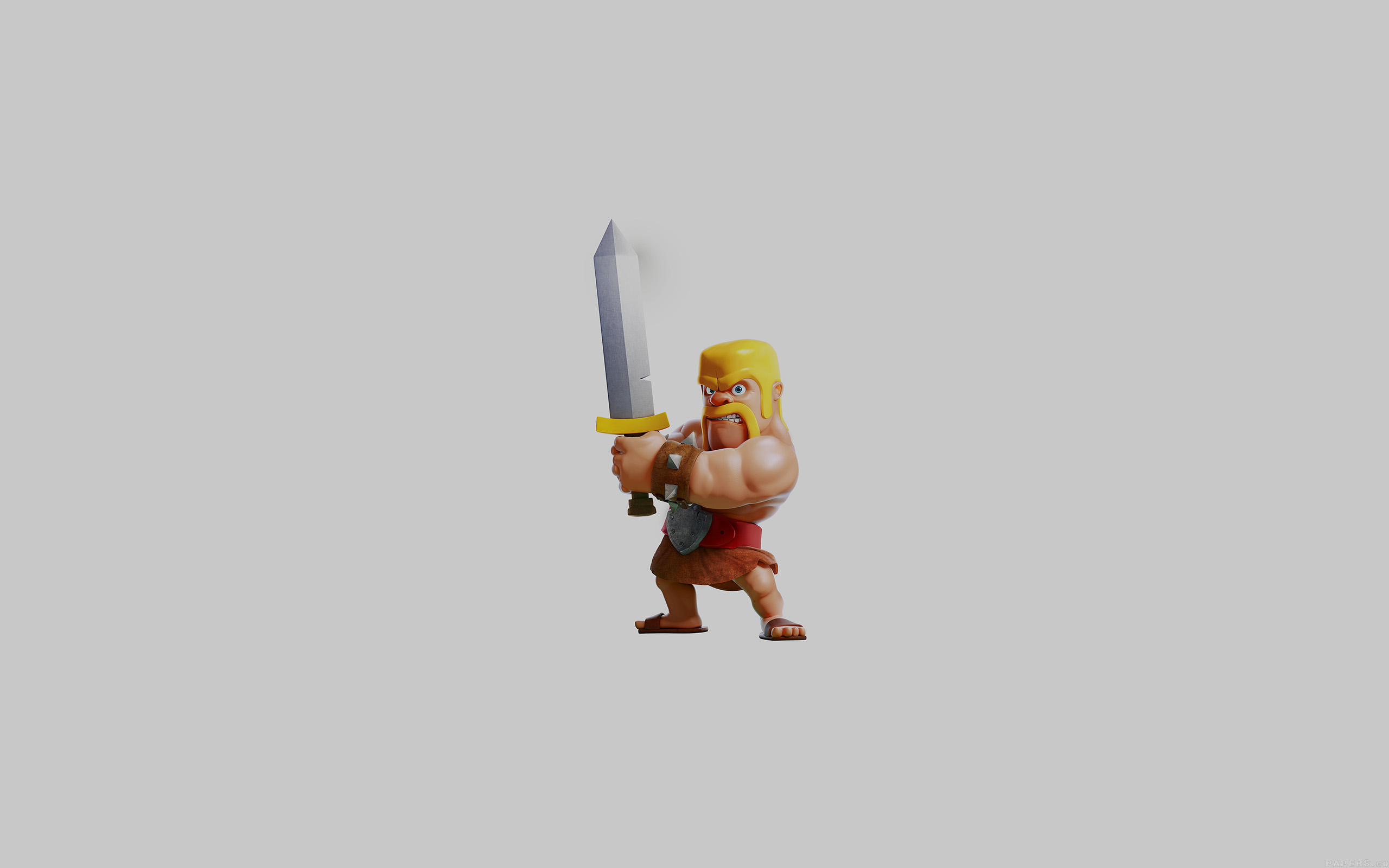 Barbarian Clash Of Clans Hd Hd Games 4k Wallpapers: 3840 X 2160